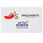 ON THE BORDER<sup>®</sup> $25 Gift Card